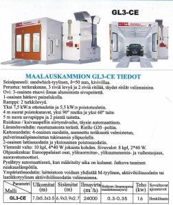 GL3 CE Maalauskammio