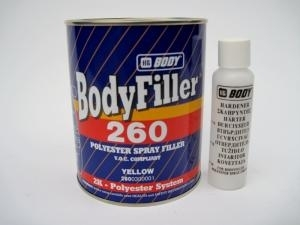 Bodyfiller 260 Ruiskukitti
