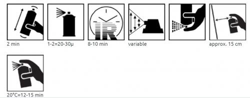 ColorMatic 1K epoksipohjamaali 400ml