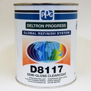 PPG DELTRON D8117 SEMIMATTALAKKA 0,5L / 1L
