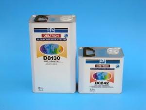 D 8130   Deltron UHS kirkaslakka 2:1 5L + D 8242 Nopea kovete 2,5L