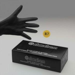 Nitriili käsine paksumpi, Musta 100 kpl/pkt