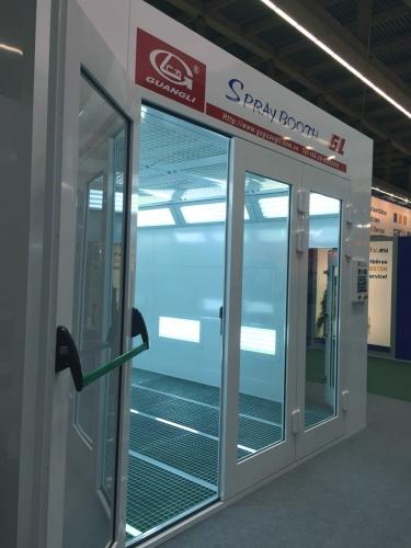 GL4-N CE Automaalauskammio