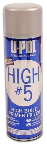 Hiontaväri Primer U-Pol High #5  Spray 450ml