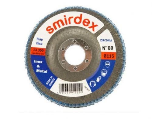 Smirdex Inox Lamellilaikat Ruosteenpoistoon 125 mm