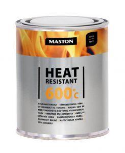 Maston Kuumakestomaali 600°C Hopea 1 L