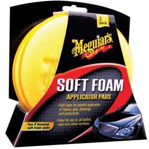 Meguiar's Soft Foam Applicator pads 2kpl pkt
