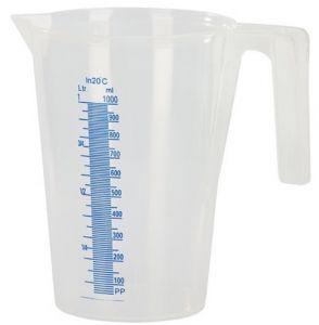 Kuvassa 1 litran mittakannu asteikoilla