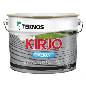 Kirjo Aqua Peltikattomaali 0,9 L T2515 musta