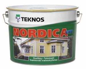 Talomaali Nordica Eko 9 L Base A valkoinen