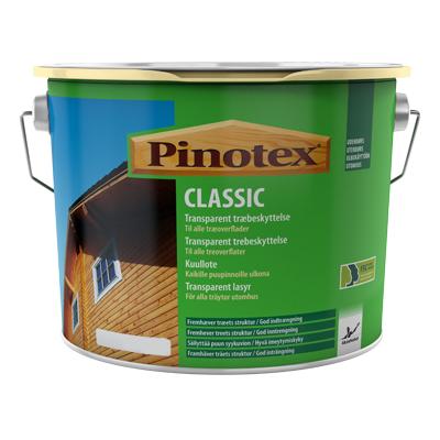 Pinotex Classic Kuullote Musta 10 L