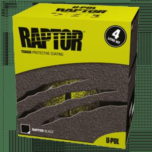 Sävytetty raptor setti ral 5015