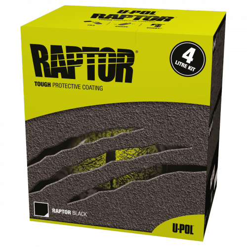 U-POL Raptor Pinnoite 4L seos + Massaruisku kaupan päälle!