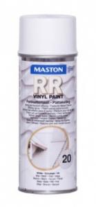 Maston RR peltikattomaalispray 20 Valkoinen