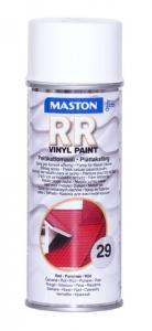 Maston RR peltikattomaalispray 29 Punainen