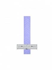 3M Tarra Liuskat hookit purple 70x396