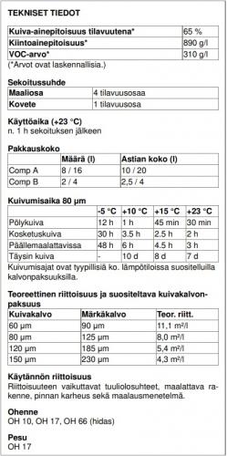 Normadur 65HS 5L seos