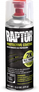 Uutuus U-POL Raptor Pinnoite 2K SPRAY 400 ml