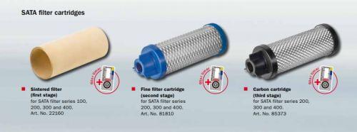 Nämä 3 suodatinta: vesiöljy , hieno suodatin ja aktiivihiili suodatin ovat vaihdettavissa putkien sisällä